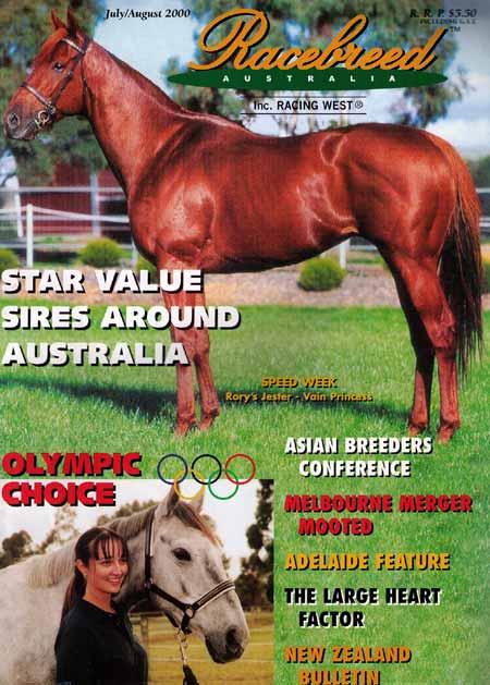 Racebreed Australia magazine - Kate Hesse, equine physiotherapy