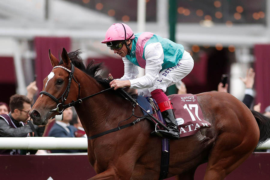 Enable and Frankie win the Arc 2017