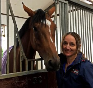 Chartered physiotherapist Kate Hesse with Enable