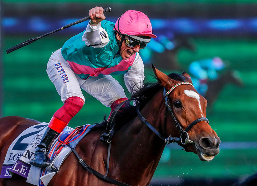Enable wins the Breeders' Cup Turf 2018 in Kentucky